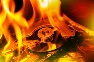 Don't let your computer's data get burned.